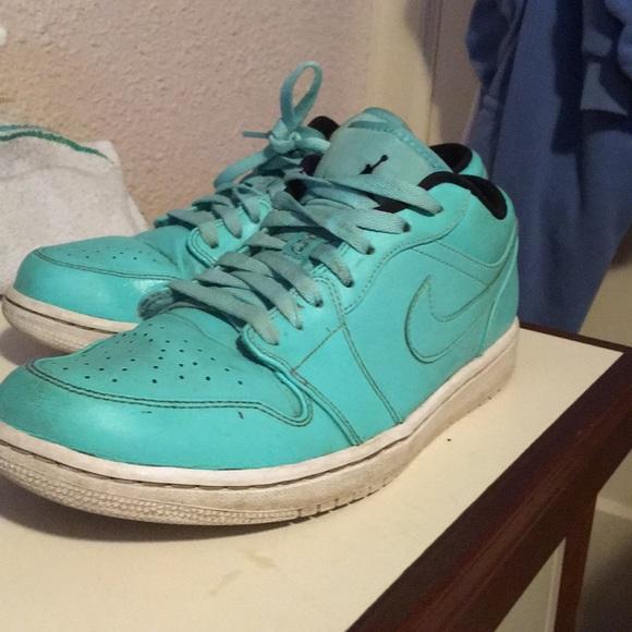 hot sale online ce925 33755 Nike Jordan. retro 1 low Tiffany blue